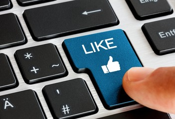 Like Button drücken
