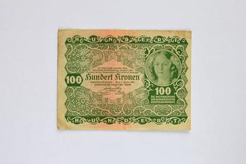 100 Kronen_alte Banknote