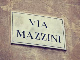 Via Mazzini in Verona