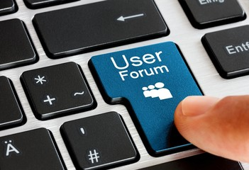 User Forum Button