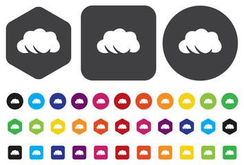 weather icon / button