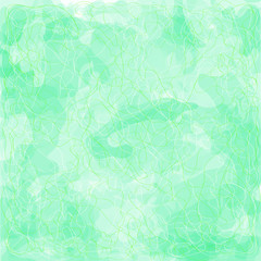 Green background abstraction. Vector Design