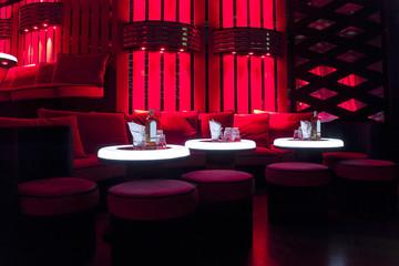Dance club interior. Payner Premium. Bulgaria, Veliko Tarnovo