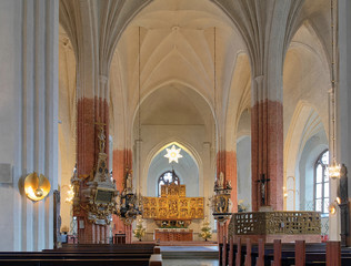 Interior of the Vasteras Cathedral, Sweden