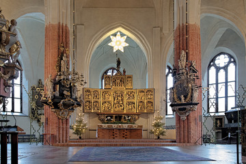 Altar of the Vasteras Cathedral, Sweden