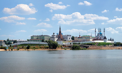 View of the Kazan Kremlin, Republic of Tatarstan, Russia