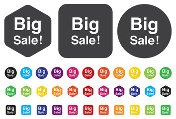 big sale button