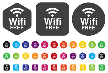 wifi icons for business or commercial use