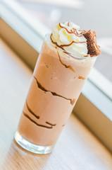 Chocolate smoothies
