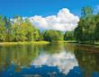 Pavlovsk Park near Saint Petersburg, Russia