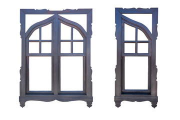 Wooden Windows, Isolated