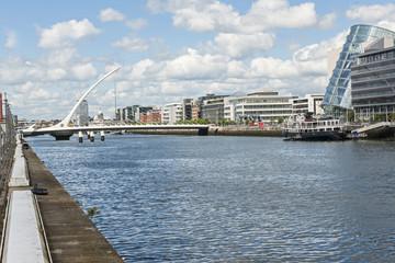 Samuel Beckett Brücke in Dublin