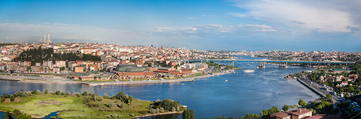 Golden Horn Panorama, Pierre Loti Hill