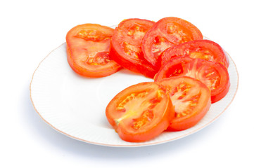 tomate en tranches