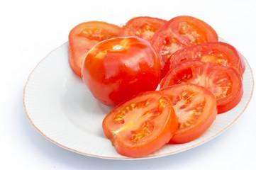 Tomates en rondelles