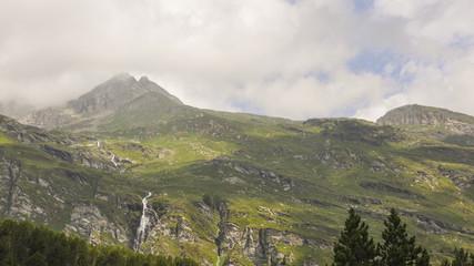 Maloja, Dorf, Schweizer Alpen, Sommer, Graubünden