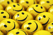 Happy yellow smileys - 65597478