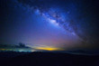 canvas print picture - Milky way
