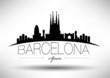 Barcelona City Typography Design - 65598001