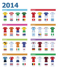 Soccer championship colours