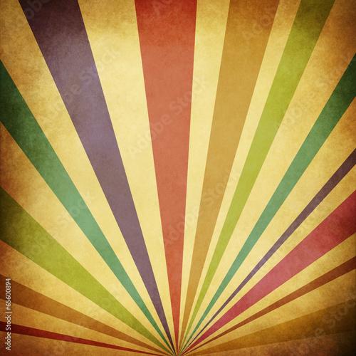 Foto op Plexiglas Retro Vintage Sunbeams Background