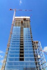 Grattacielo in costruzione - Torino