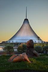 Entertainment center KHAN SHATYR in Astana / Kazakhstan