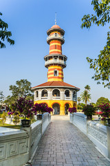 Sages Lookout Tower (Ho Withun Thasana) of the Thai royal Summe