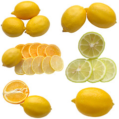 Lemons and Oranges.