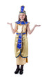 Image of pretty girl posing in Cleopatra costume