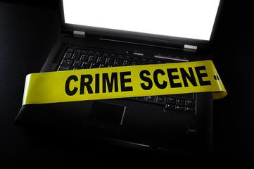 computer crime scene
