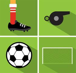 Soccer icon set II