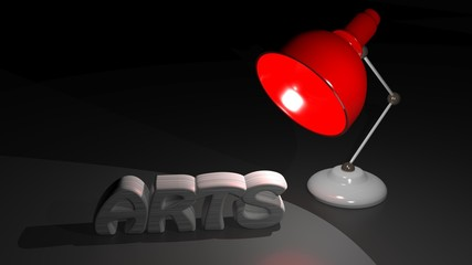 Light on the arts