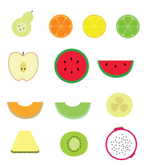 Fruit Slices Set