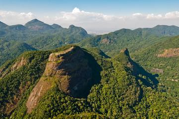 Beautiful Tijuca Forest Mountains in Rio de Janeiro