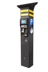 Electronic parking machine