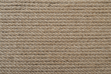 Rough rope closeup