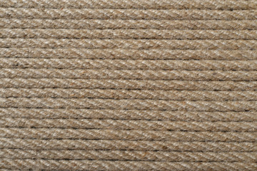 Rough rope closeup