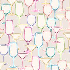 different stemware