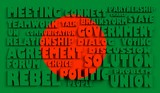 bangladesh flag relief text conformity with political situation poster
