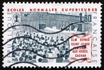 Postage stamp France 1982 Higher Education