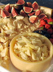 Parmagiano cheese on a buffet