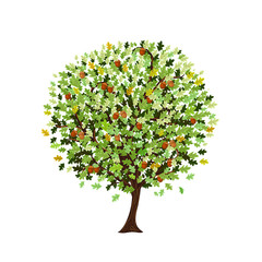 decorative oak tree