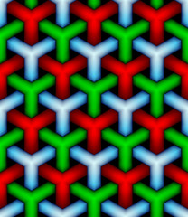 seamless texture  hex grid on white