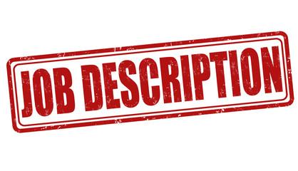 Job description stamp