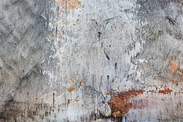 shabby wall with cracks
