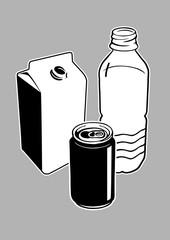 métal plastique tétra pack