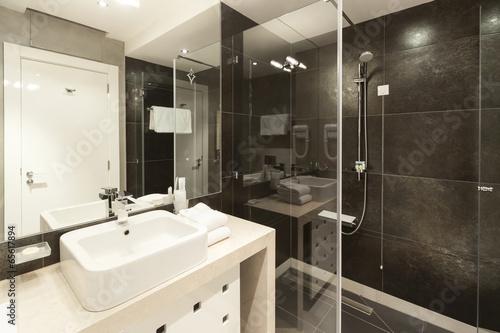 Interior of modern bathroom - 65617894