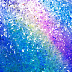 Glitters on a soft blurred background. EPS 10