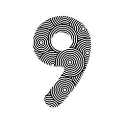 Circle pattern number nine